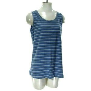 Basic Edition Woman's XLarge Striped Cami Tank Top